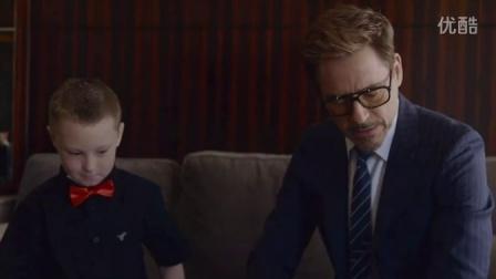钢铁侠为残障儿童送机械手臂
