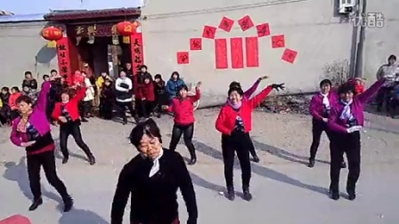 新河县西李村广场舞汇演【南陈海村】