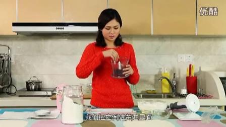 教你做蔓越莓曲奇 曲奇饼干的制作方法 DIY 05