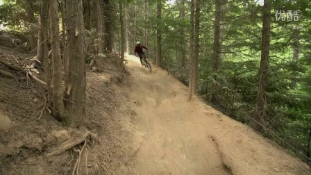 【山地车速降】Remy Metailler burns the Whistler Bike Park- Routes of 99 E02 DH 自行车