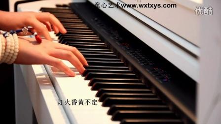 莫文蔚《当你老了》钢琴+背景_tan8.com
