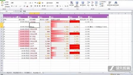 第 11 次课 - Excel实训2 - 物业数据表高级应用:表格美化、条件格式、数据表保护【城中校区 - 领先教育 二级高级Office】