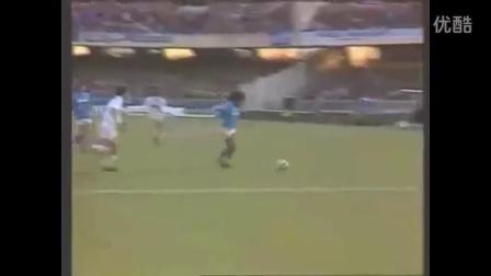 马拉多纳夺得世界杯的精彩瞬间 足球比赛精彩球集锦