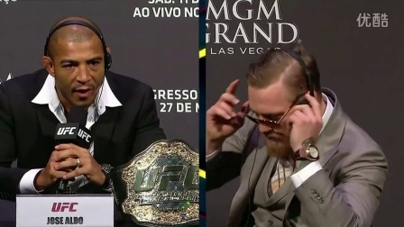 UFC 189- World Tour Press Conference - Rio Highlights