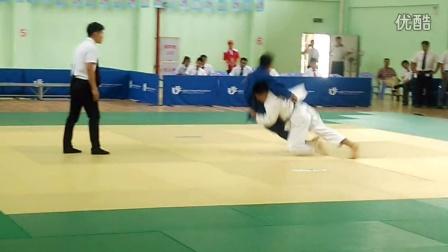 省运会青少年柔道比赛