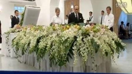 华人首富李嘉诚及家人出席李光耀葬礼