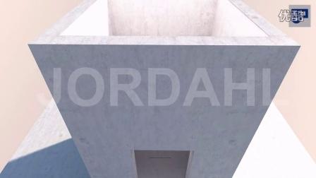 用于电梯工程的 乔达JORDAHL® 锚固钢槽
