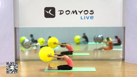 【健身宅计划】瑜伽球-初级-迪卡侬Domyos动悦适-免费在线健身视频(2015)