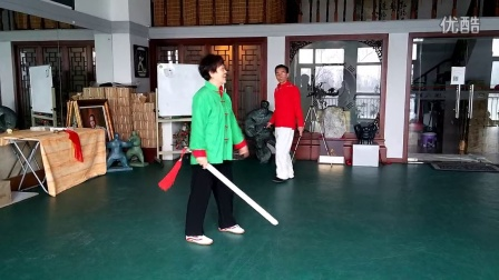 Hunyuan Sword move 11 with Master Feng Xiufang
