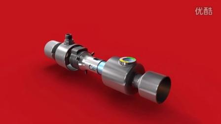 各部件一览(9秒) -全新 ETS Colibri® 电子膨胀阀