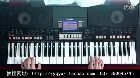 向天再借五百年(康熙王朝) 电子琴演奏 阿荣 36技教程示范视频