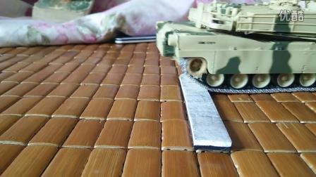 小号手RC坦克改良:悬挂效果