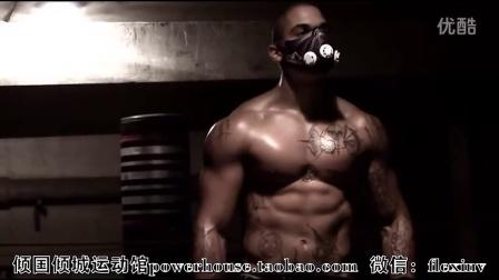 MMA和UFC体能力量终极格斗训练 高海拔缺氧自虐面罩健身励志