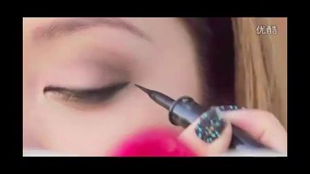 春秋流行烟熏妆化妆教程