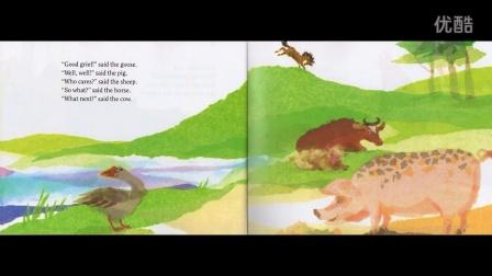 Hattie and the Fox 廖彩杏书单第八周第一本------布袋的英文绘本