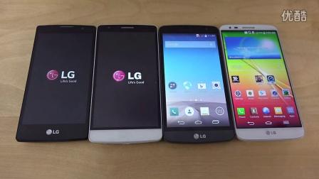 LG Spirit vs. LG G3 S vs. LG L Bello vs. LG G2 - 哪个更快- (4K)