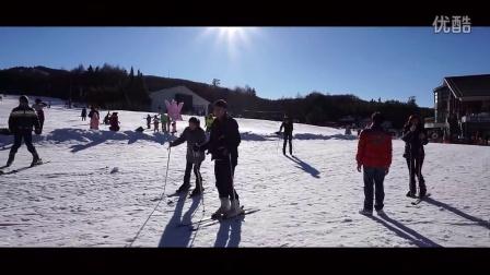 笑波子-「滑雪就是為了跌倒」 真正的雪人!!