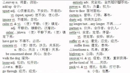 人教版高中英语必修一第一单元单词 单词录音