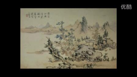 【全集】刘松岩山水画教学视频_国画山水画图片
