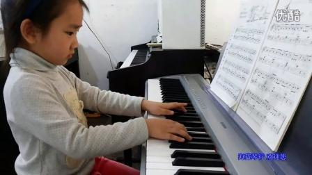 瓜沥钢琴老师 芦老师学员潘项楠