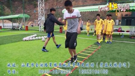 汕尾青年足球场--少儿足球俱乐部培训视频