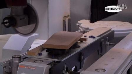080_施迈茨真空装夹系统用于木材加工中心