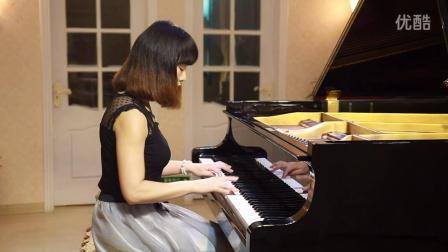 义乌市知音艺术培训中心 香山校区 黄牡丹 月亮代表我的心