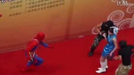 【极限险峰】蜘蛛侠英雄救美