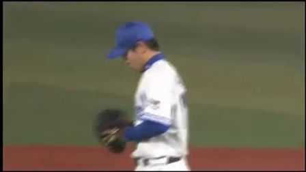 De山崎康晃 苦しみながらも試合を締める 2015年4月1日 横浜DeNAベイスターズ対広島