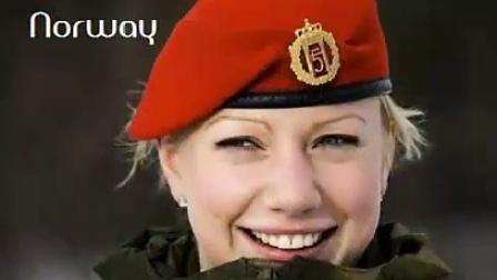 世界最美女兵集锦:俄罗斯最美以色列最豪放