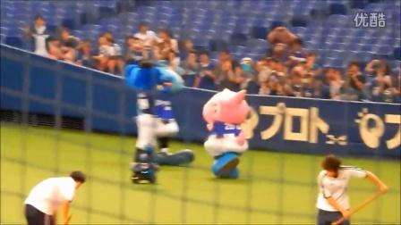 試合後の燃竜ドアラ ~ 2014.08.29 ナゴヤドーム