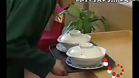餐厅服务员礼仪培训视频-- 托盘的使用方法[标清版]
