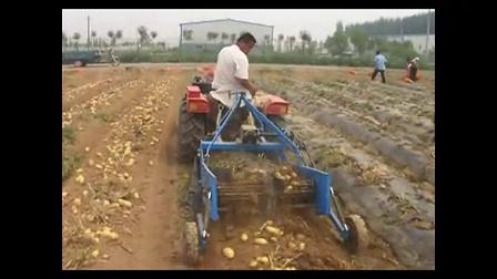 给力四轮拖拉机驱动 土豆收获机  红薯收获机 大蒜收获机