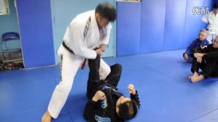 DRILL Open Guard Passing - Leg Drag & Knee Slide Pass 720p