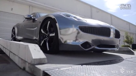 Karma Fisker Black chrome APA America by Superior Auto design
