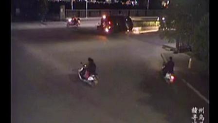 4月2日晚寻乌新罗大桥翻车事故