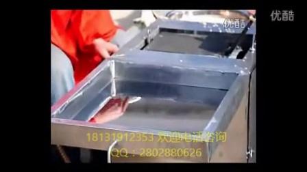 铝合金板蛋卷机 奶油蛋卷机 鸡蛋卷机器图片4