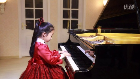 义乌市知音艺术培训 义乌钢琴 香山校区 冯诗瑶 7岁 苏格兰舞