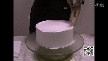刘清蛋糕培训学校圆胚的制作过程