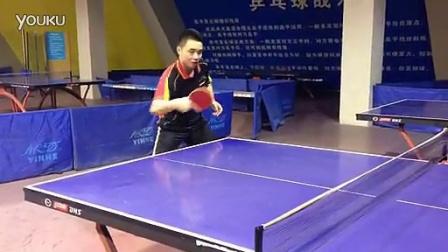 乒乓球(横板反手生胶动作示范)_标清