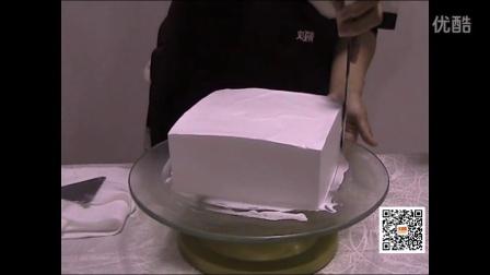 刘清蛋糕培训学校方胚的制作过程(下)