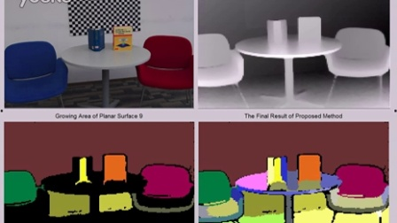 demo for Planar surface detection