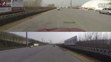 Q50L主动刹车系统动态测试