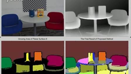 demo for planar surface detection (HD)