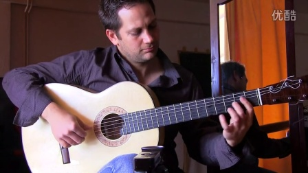 Socrates Mastrodimos testing a guitar - Taranta