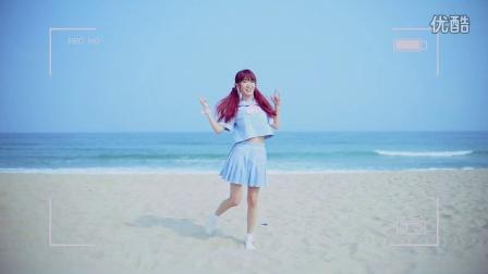 【萌大酱】马尾与发圈AKB48[三亚海边阳光沙滩]