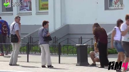 俄罗斯VS美国街头人性大比拼1