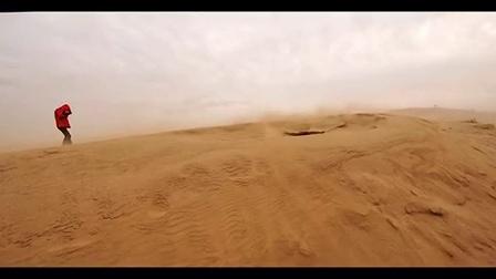 中国气象频道追沙宣传片—中国气象频道记者张茜