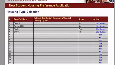 Editing Your Preference Application - UMass Amherst