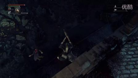 Bloodborne《血源诅咒》亚丹墓园-会出现黄衣猎人攻击玩家撑一会乌鸦女会来帮忙